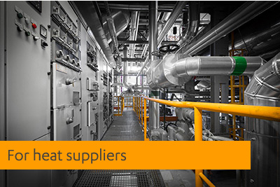 for heat suppliers